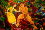 Puzzle Mania: Jane Porter and Tarzan